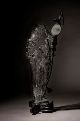 Albert Paley glass sculpture