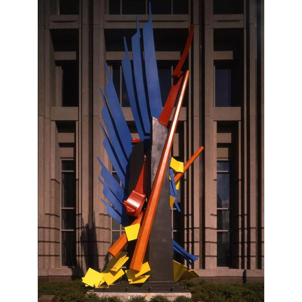 Albert Paley_sculpture Olympia