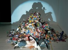 Tim Noble Sue Webster incredible shadow sculpture