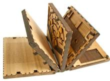 wooden puzzle book by Brady Whitney