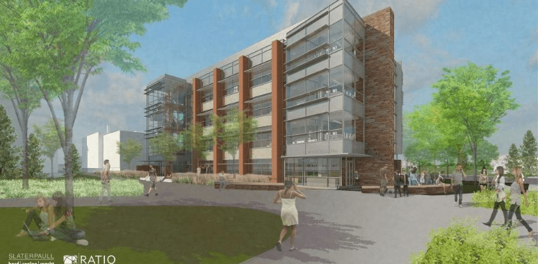 rendering of new Chem Building