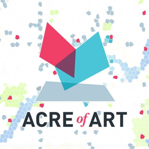 Acre of Art logo