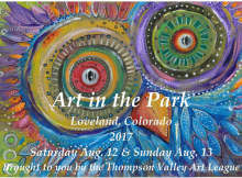 2017 Art in the Park poster