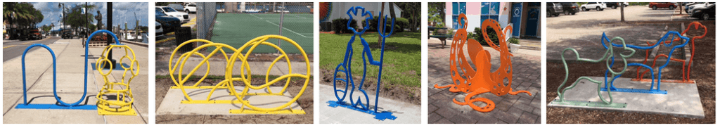 Tarpon Springs bike rack call for entries