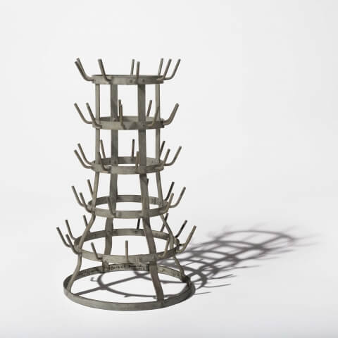 sculpture acquisition, Bottle Rack by Marchel Duchamp