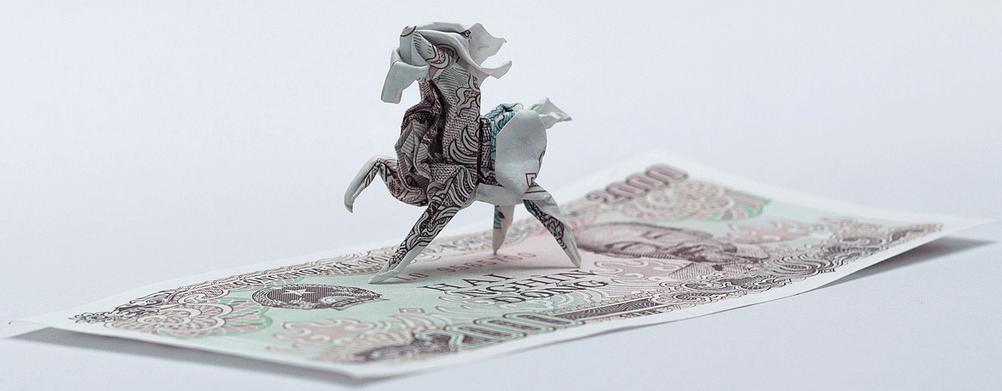 Nguyen Hun Cuong paper sculpture horse