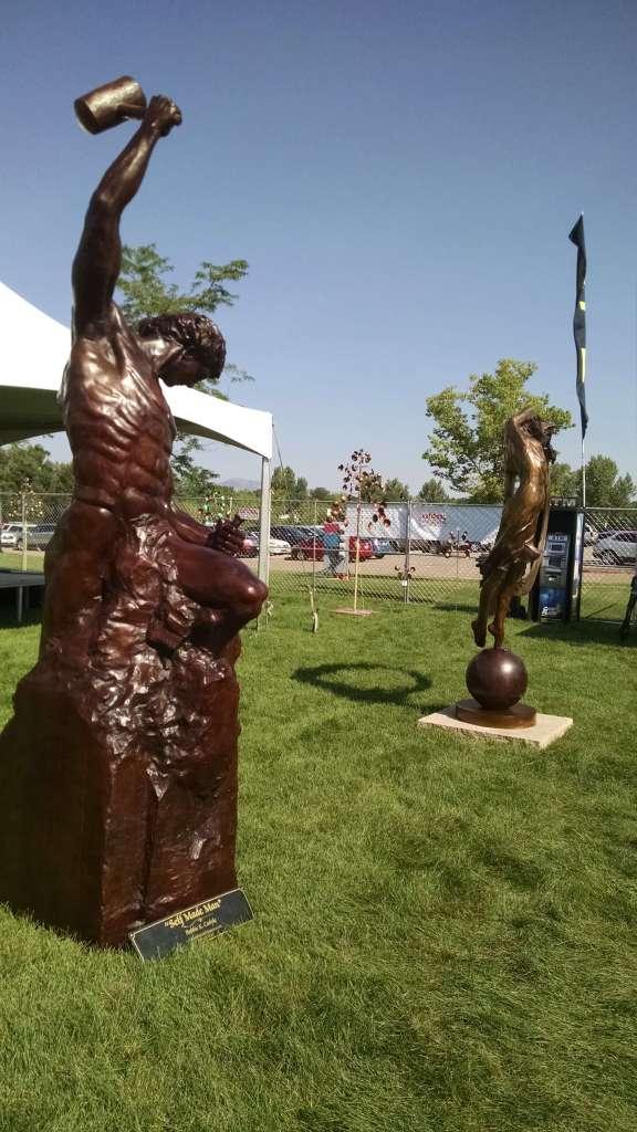 Bobbie Carlyle bronze sculpture