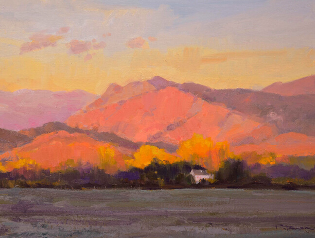 Namaqua Hill by Russ Tanner at Artists Charitable Fund Art Auction 2018