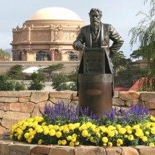 Eadweard Muybridge at Lucasfilm's Presidio headquarters, San Francisco