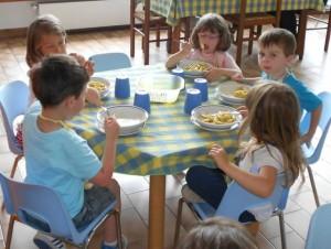 pranzo a scuola materna