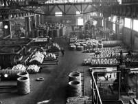 Meccanica pesante a Lovere. Fotografia archivio Lucchini RS
