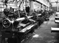 Meccanica Pesante a Lovere. Fotografia Archivio Lucchini RS, 1950