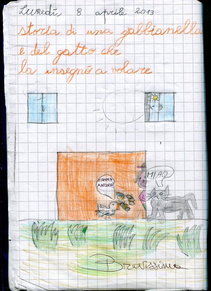 LA GABBIANELLA E IL GATTO 4 LE NOSTRE RIFLESSIONI (3/3)