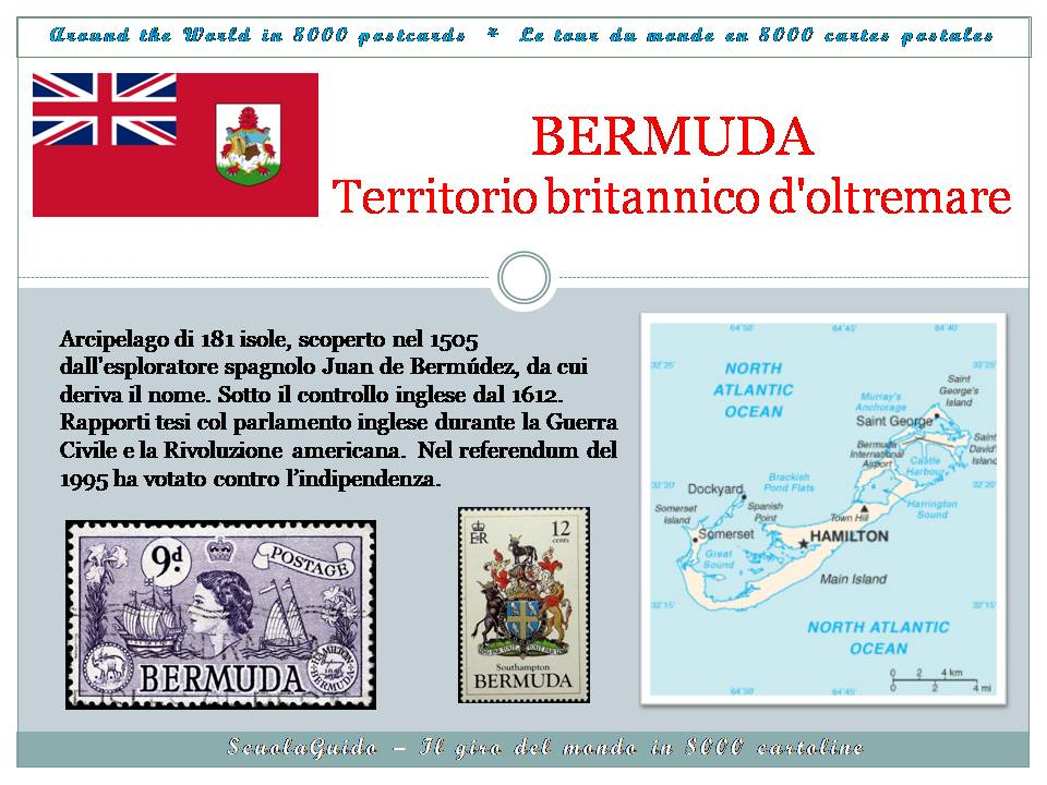 Cartoline dalle Bermuda - Postcards from Bermuda