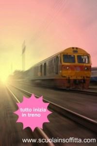 Quella bambina in treno