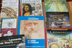 9 libri per bambini su Leonardo da Vinci