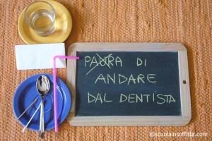 Insegnare a non aver paura del dentista