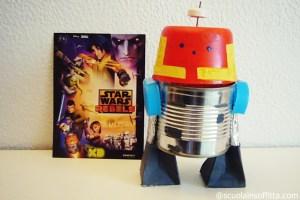 Come costruire il robot Chopper (Star Wars)