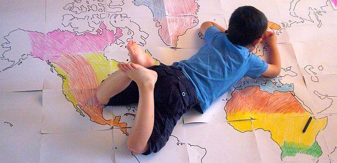 Giocare con la geografia