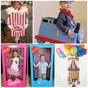 12 Costumi di Carnevale realizzati con scatoloni