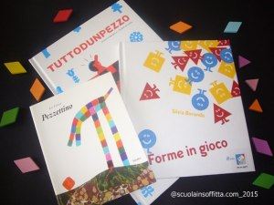 Libri per bambini sulle forme (tangram)