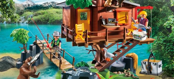Casa sull'albero di Playmobil