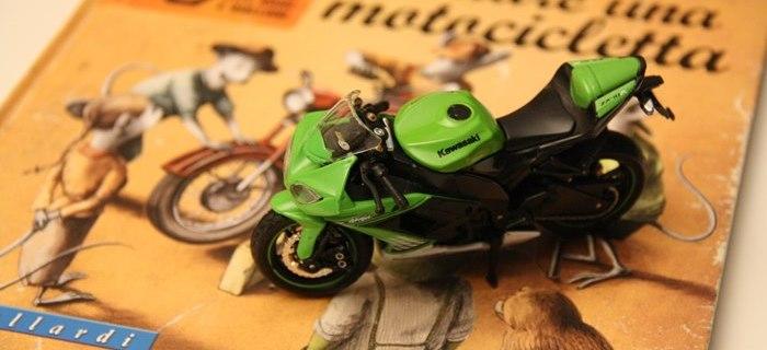 Come costruire una motocicletta, libro per bambini