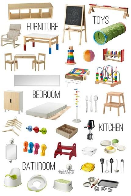 Casa montessori idee per preparare l 39 ambiente for Lavette ikea a cosa servono