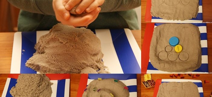 Usare la sabbia cinetica come materiale didattico