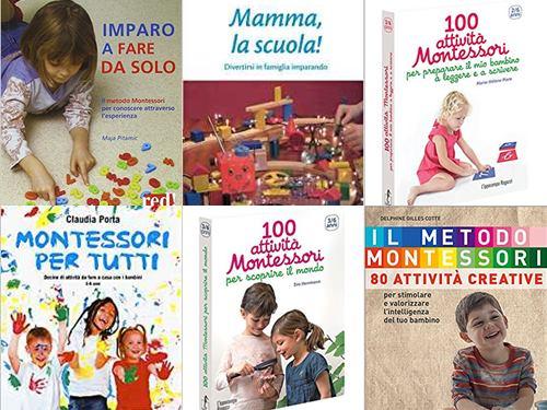 libri attività montessori