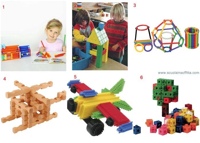 costruzioni per bambini borgione