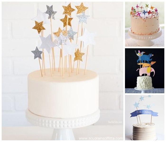 Gallery of decorazioni per torte di compleanno paper cake toppers with decorazioni per cresima - Decorazioni per cresima ...