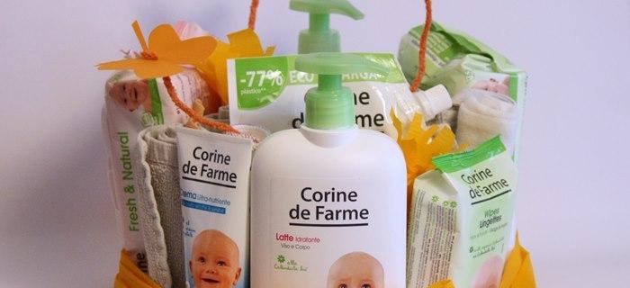 Torta di prodotti naturali per bambini