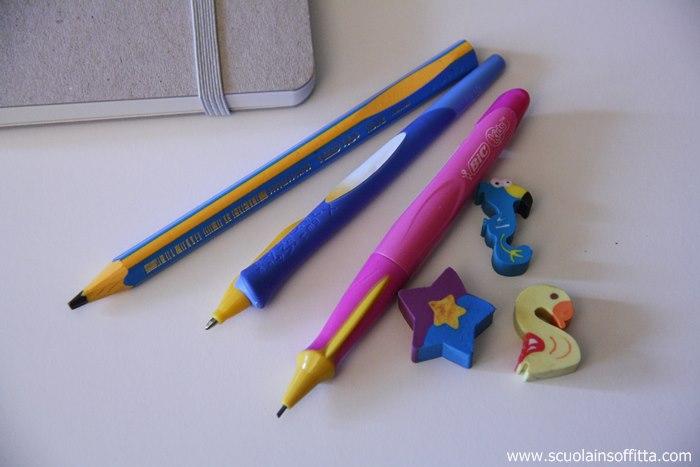bic kids beginners penne con impugnatura