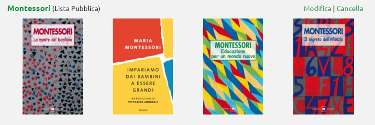 libri Montessori