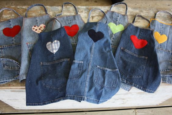 Favoloso 7 Idee per riciclare vecchi jeans in oggetti per bambini LB73