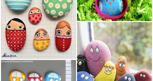 7 Idee per decorare i sassi con i bambini