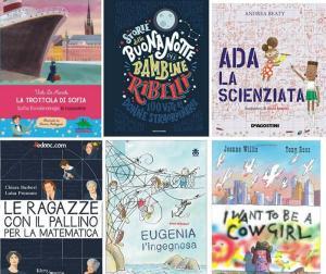 Libri per bambine che incoraggiano a puntare alto