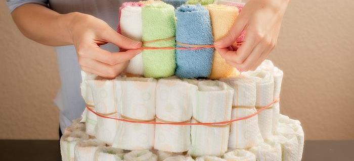 5 Idee per una torta di pannolini originale e facile