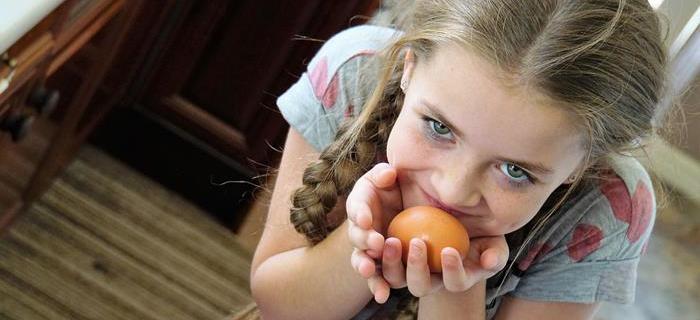 5 Idee per presentare le uova sode ai bambini