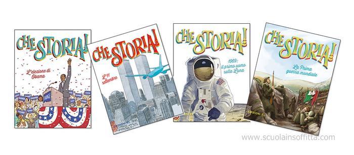 Che Storia! Una collana di libri per bambini sui grandi eventi