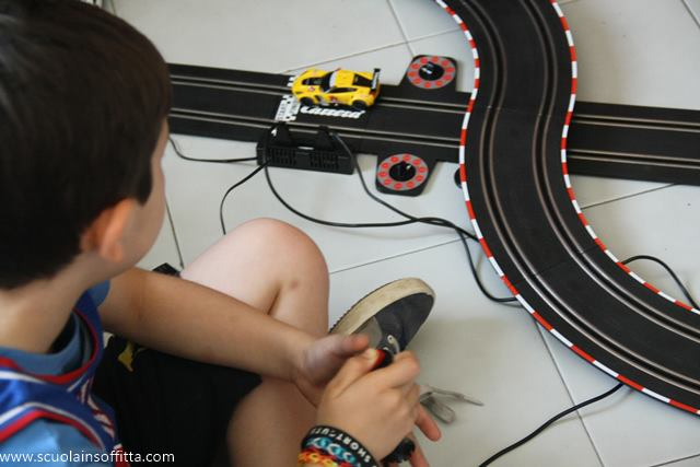 pista macchine carrera
