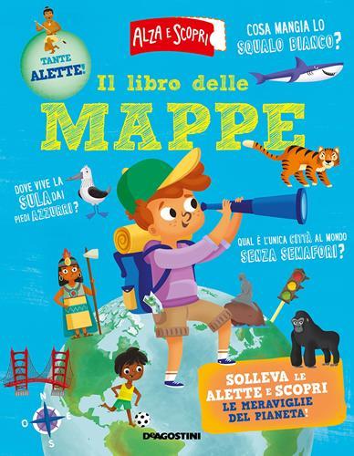 libro per bambini sulle mappe