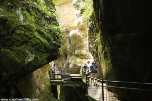 Orrido di Bellano. Meraviglia di acqua e rocce
