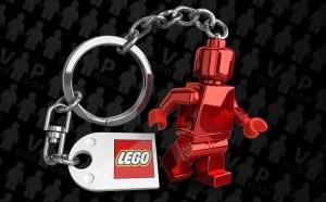 Portachiavi VIP LEGO in omaggio