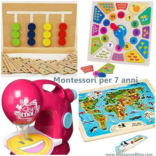 Regali montessori per tutte le et for Regali per bambini di 7 anni