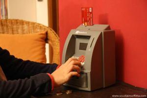 Salvadanaio mini bancomat per bambini