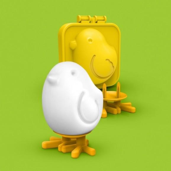 stampo per uova sode uccellino