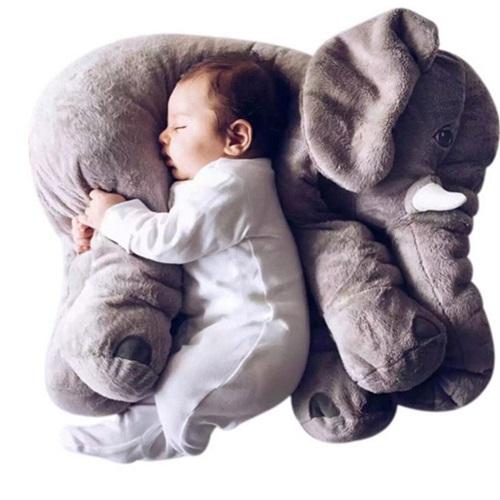 cuscino per neonati a forma di elefante