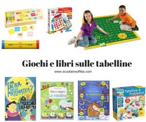 Insegnare le tabelline: giochi, libri, attività per bambini